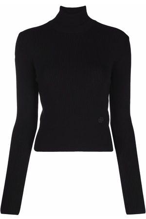Patou Ribbed-knit turtle-neck jumper