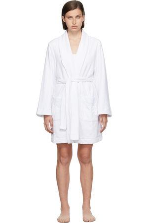 Women Bathrobes - SKIMS White Terry Robe