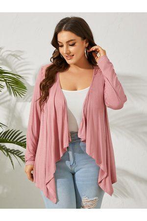 YOINS Plus Size Lace Long Sleeves Kimono
