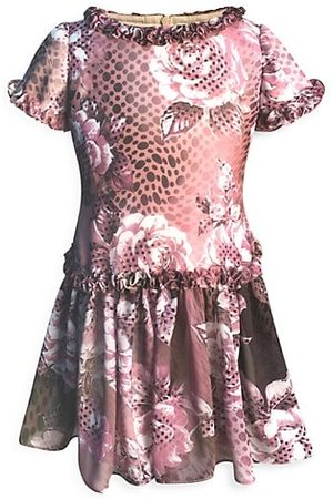 Helena and Harry Little Girl's & Girl's Floral Chiffon Dress