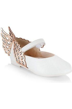 SOPHIA WEBSTER Baby's & Little Girl's Evangeline Leather Wing Ballet Flats