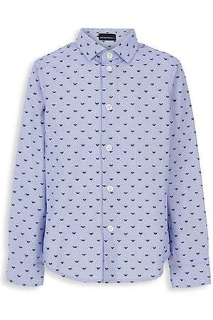 Armani Boys Shirts - Little Boy's & Boy's Button-Up Shirt