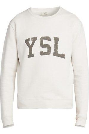 Saint Laurent Collegiate Logo Sweatshirt