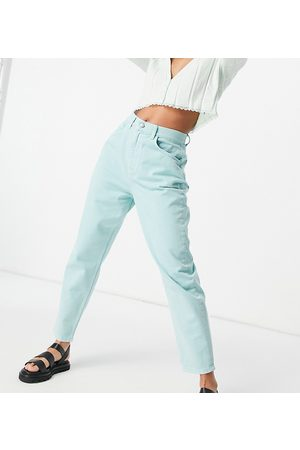 Reclaimed Inspired the 92 relaxed mom jeans in washed mint denim