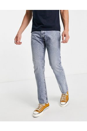 Levi's Levi's Skateboarding 501 straight fit jeans in homewood mid wash