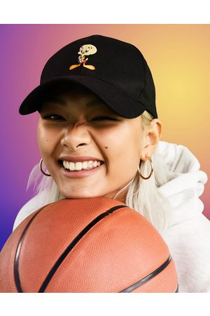 ASOS Space Jam: A New Legacy baseball cap with Tweety embroidery in