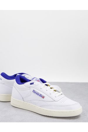 Reebok Club C Mid II trainers in and blue
