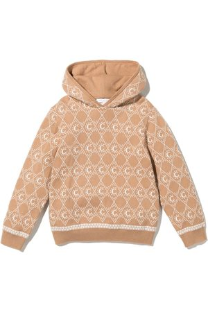 Chloé Intarsia-knit hoodie