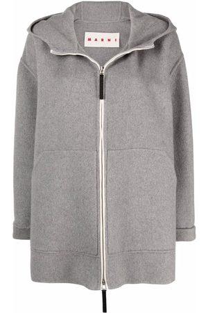 Marni Cashmere-blend fleece hoodie