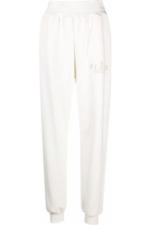 Philipp Plein Iconic Plein high-waisted trackpants