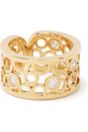 COURBET 18kt yellow Constellation laboratory-grown diamond ring