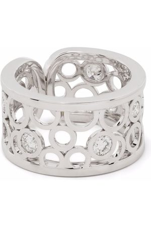 COURBET 18kt white gold Constellation laboratory-grown diamond ring