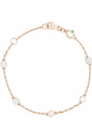 COURBET 18kt recycled rose gold Origine 5 set laboratory-grown diamond bracelet