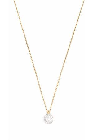COURBET Women Necklaces - 18kt recycled yellow Origine bezel set laboratory-grown diamond necklace
