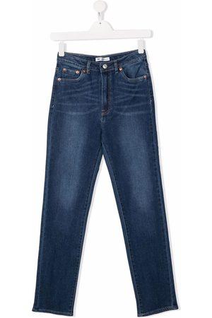Levi's TEEN mid-rise straight-leg jeans