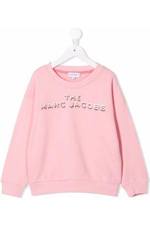 The Marc Jacobs Logo crew-neck sweatshirt