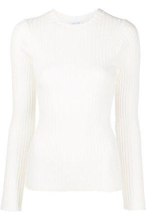 ANINE BING Women Long Sleeve - Cecilia long-sleeve ribbed-knit top