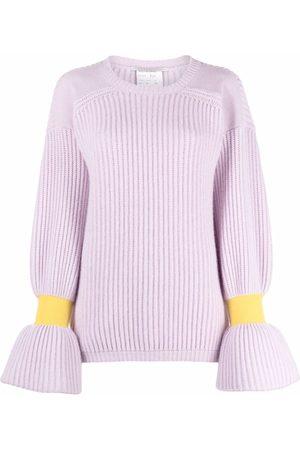 Stella McCartney Bell-sleeve rib-knit jumper