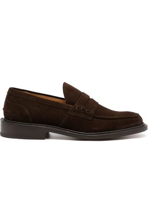 TRICKERS Men Loafers - Slip-on suede penny loafers