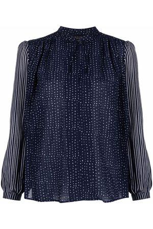 RAG&BONE Carly geometric-print blouse