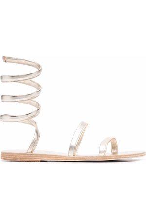 Ancient Greek Sandals Women Sandals - Wrap-around strap sandals