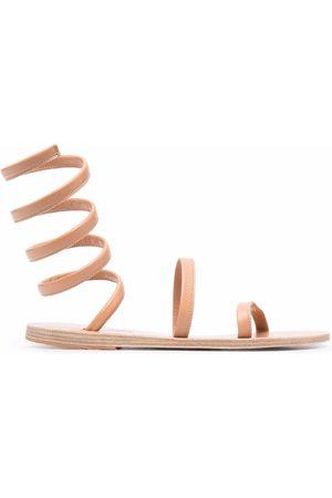Ancient Greek Sandals Women Sandals - Ankle-strap sandals