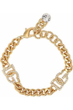 Dolce & Gabbana DG crystal-embellished bracelet