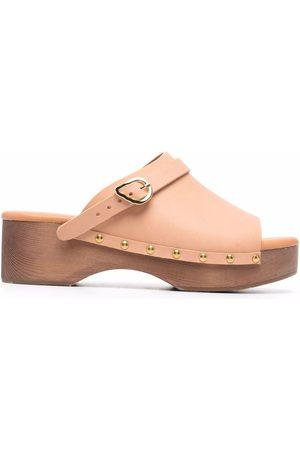 Ancient Greek Sandals Buckle-detail sandals