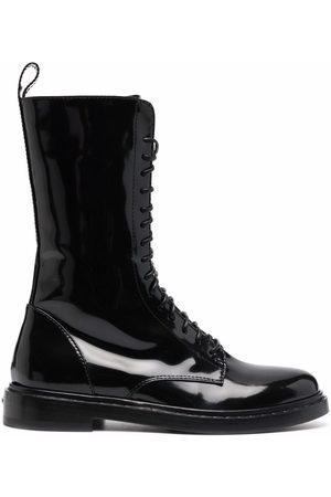 LE SILLA Sama lace-up boots