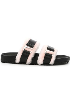 SENSO Women Sandals - Dalley shearling-trim sandals