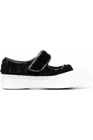 Marni Cut-out touch-strap sneakers
