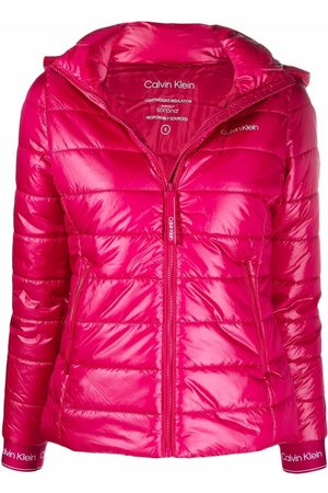 Calvin Klein Women Jackets - Quilted padded hooded jacket