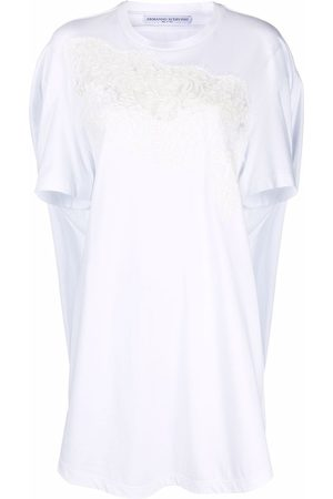 ERMANNO SCERVINO Women Casual Dresses - Embroidered T-shirt dress