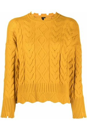 Pinko Women Jumpers - Cable knit jumper