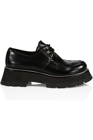 3.1 Phillip Lim Loafers - Kate Leather Lug-Sole Lace-Up Oxfords