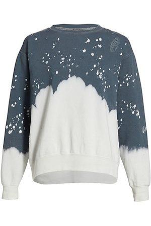 LA DETRESSE Acid Wash Charcoal Sweatshirt