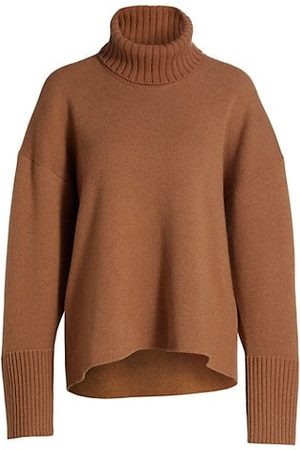 Proenza Schouler Women Jumpers - Cashmere Oversized Turtleneck Sweater