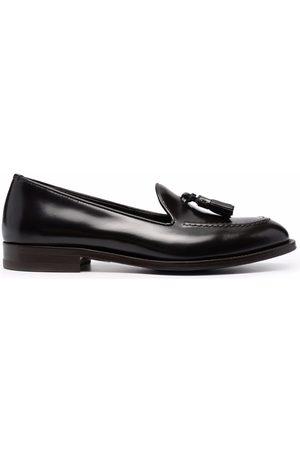 Scarosso Sienna tassel-embellished leather loafers