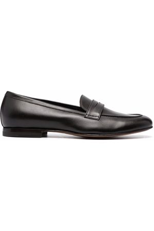 Scarosso Valeria leather penny loafers