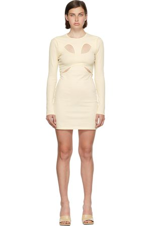 Dion Lee Off-White Breathable Tee Dress