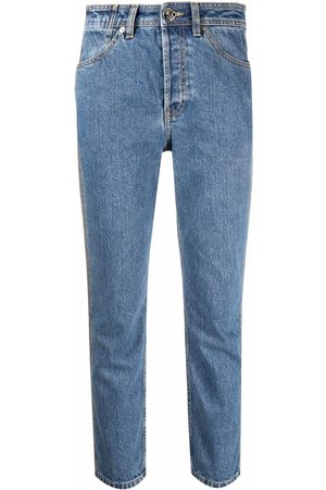 Lanvin Women High Waisted - High-waisted cropped jeans