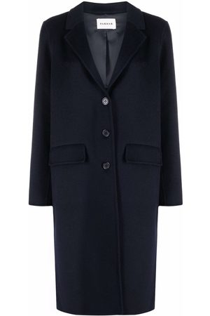 P.a.r.o.s.h. Women Coats - Fitted single-breasted coat