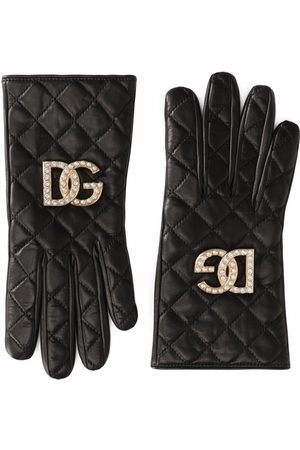 Dolce & Gabbana Women Gloves - Quilted leather gloves