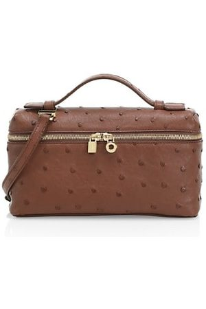 Loro Piana Women Handbags - Ostrich Leather Shoulder Bag