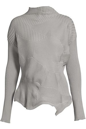 Issey Miyake Women Long Sleeve - Kone Ribbed Long Sleeve Top