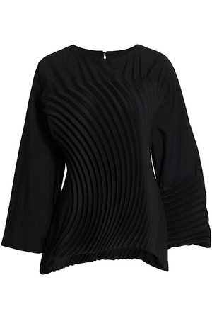 Issey Miyake Women Tops - Cliff Pleated Top