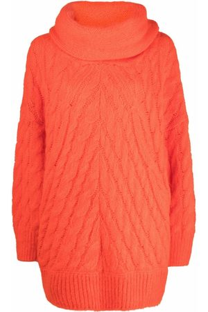 Msgm Women Jumpers - Oversize chunky knit sweater