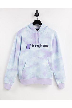 Berghaus Women Sweatshirts - Heritage logo hoodie in light /light blue