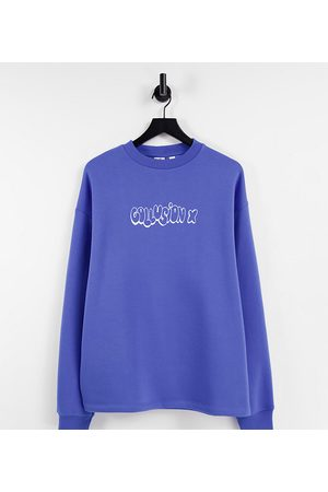 COLLUSION Women Sets - Oversized sweatshirt co ord in