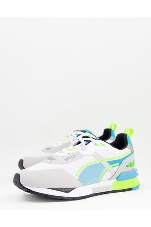 PUMA Mirage Tech trainers in and grey
